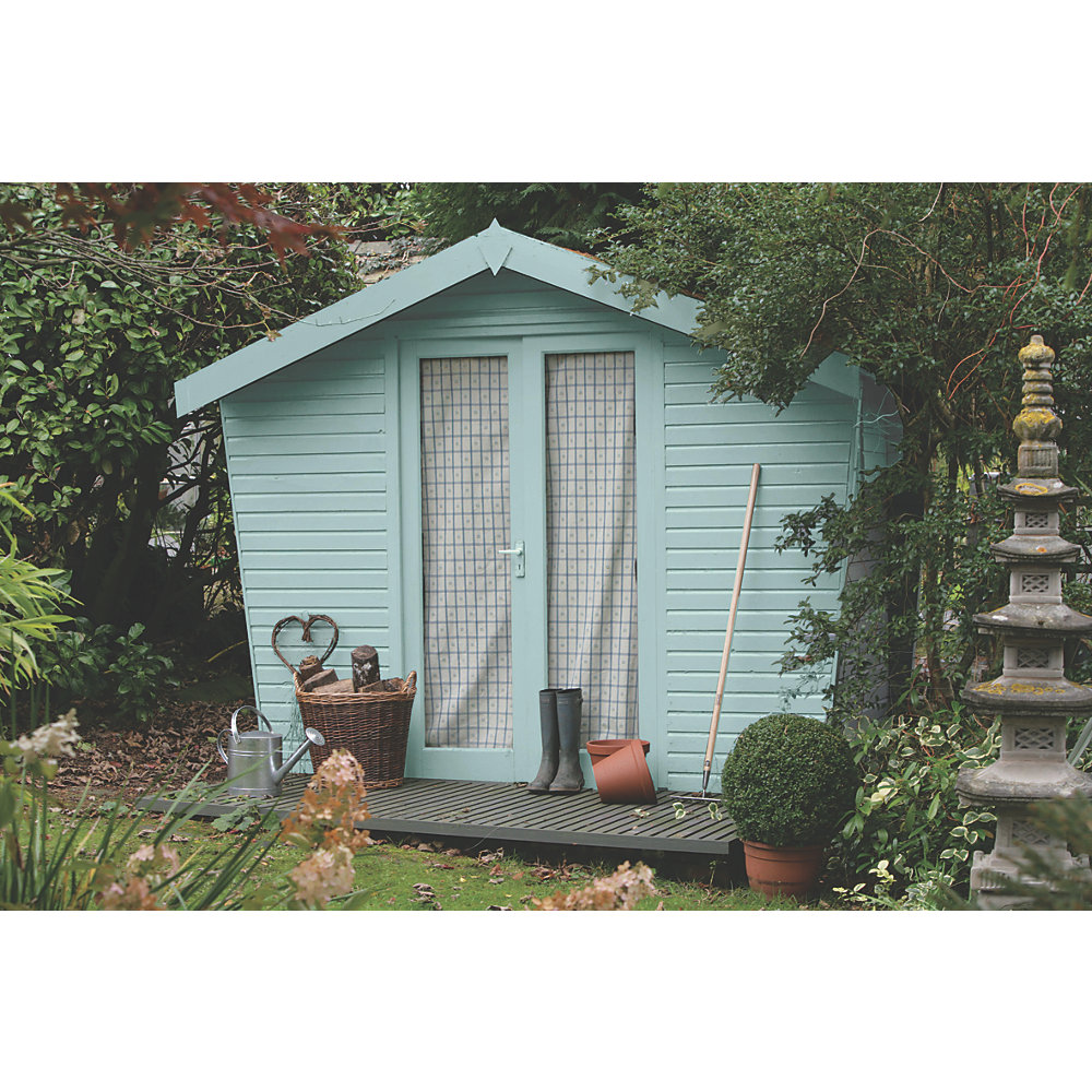Mockingbird Blue 2 5L Sadolin Garden Colour 7 Year Wood Stain Sadolin Garden